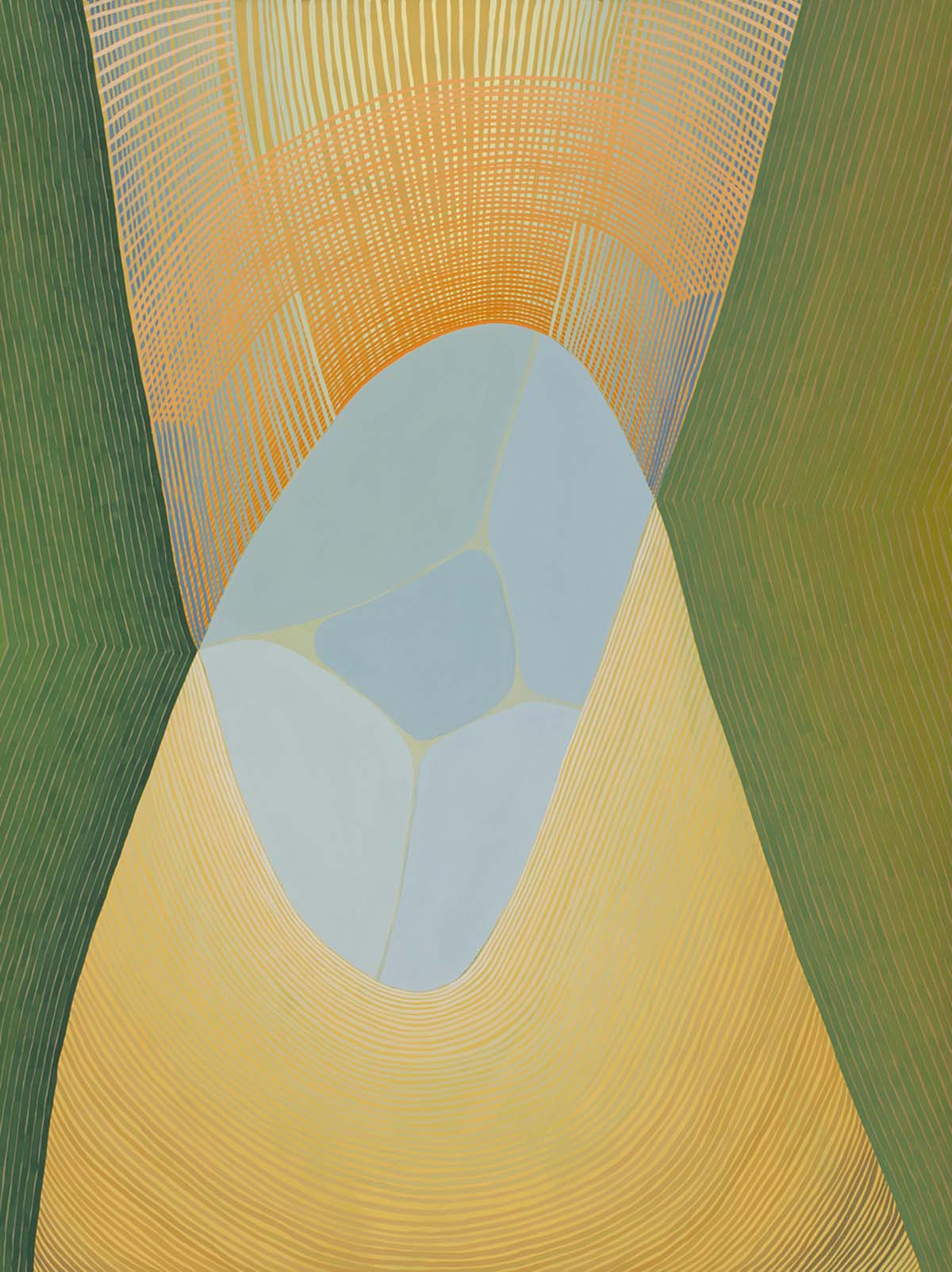 jenny kemp, fine art, the laffer gallery, abstract, painting, gouache