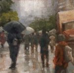 Rainy Day Crowd by Eden Compton Clay