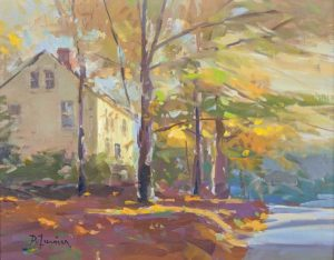 Autumn Leaves By David Lussier