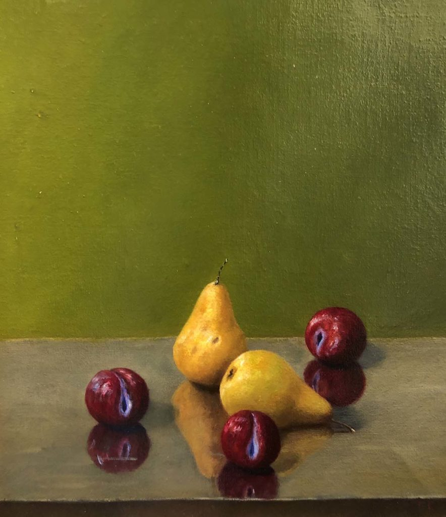 Pears and Plums By Clarence King